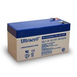 1.3Ah 12V  battery UL series
