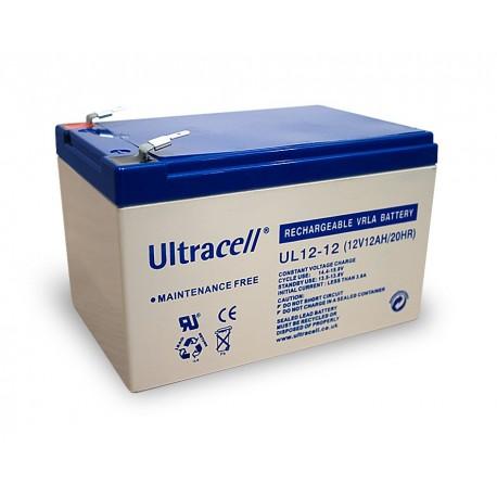 akumulator żelowy 12Ah 12V seria UL