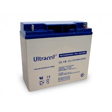 akumulator żelowy 18Ah 12V seria UL