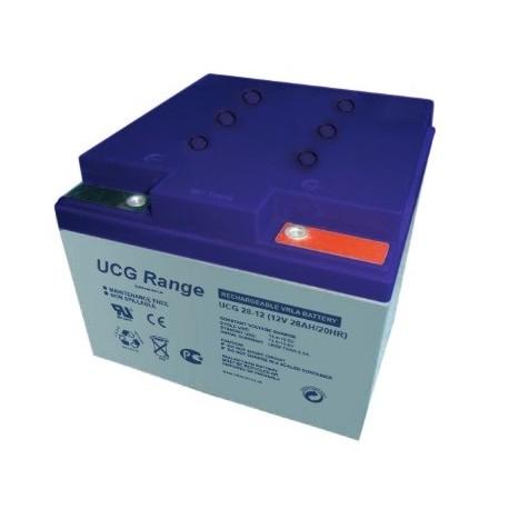 akumulator żelowy 28Ah 12V seria UCG  'Deep Cycle'