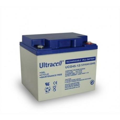 akumulator żelowy 45Ah 12V seria UCG 'Deep Cycle'