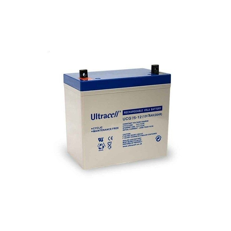 Akumulator AGM ULTRACELL UCG 12V 75AH