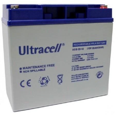 akumulator żelowy 22Ah 12V seria UCG 'Deep Cycle'